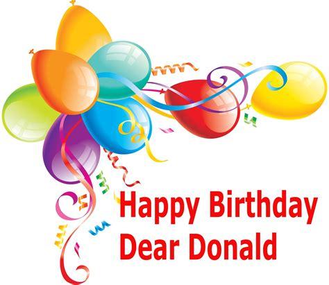 Happy Birthday Donald Trump
