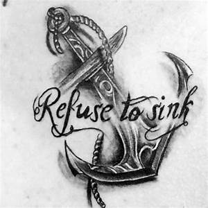 50 Refuse To Sink Tattoo Designs For Men - Strong Ink Ideas