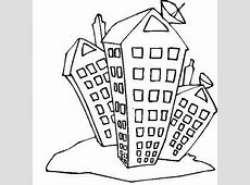 Gallery Apartment Building Coloring Pages, Coloring