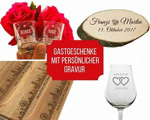 Schnapsglas Mit Gravur : gastgeschenke mit pers nlicher gravur lasergravur m ~ Markanthonyermac.com Haus und Dekorationen