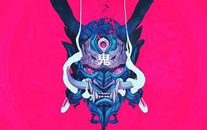 Japanese Demon Art Wallpapers - Top Free Japanese Demon ...