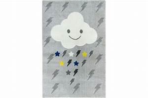 tapis enfant rectangulaire nuage et foudre 100x150cm oblak With tapis enfant avec canapé sofactory