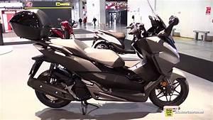 Scooter Forza 125 : 2017 honda forza 125 abs scooter walkaround 2016 eicma milan youtube ~ Medecine-chirurgie-esthetiques.com Avis de Voitures