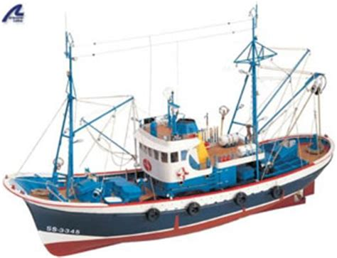Wooden Model Fishing Boat Kits by Wooden Models Kits Fast Delivery Wonderland Models