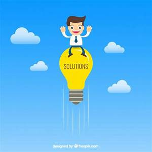 Business Solutions Concept Vector