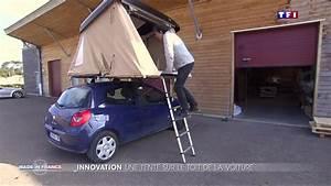 Tente De Toit Voiture : une tente sur le toit d une voiture une invention made in france le journal du week end ~ Medecine-chirurgie-esthetiques.com Avis de Voitures