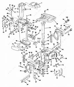 25 hp mercury outboard midsection parts diagram With 25 hp mercury outboard