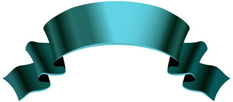 blue banner png clipart image