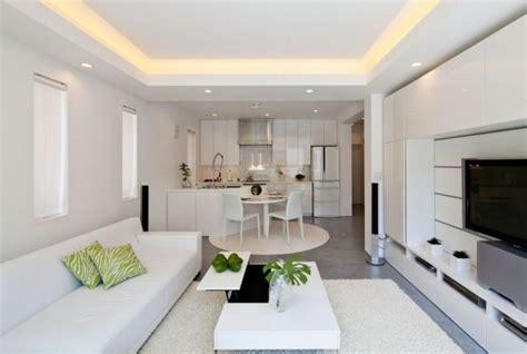 beleuchtung wohnzimmer decke moderne zen k 252 che wohnzimmer wei 223 abgeh 228 ngte decke traumhaus beleuchtung wohnzimmer