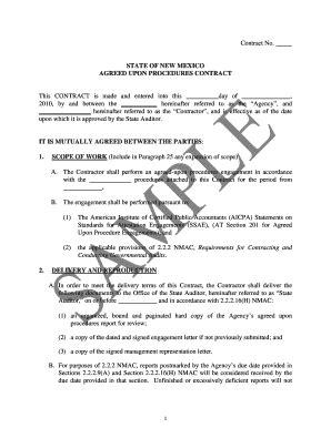 agreed  procedures representation letter edit fill