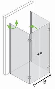 Dusche 100 X 100 : duschkabine u form bis 100x100x220 cm mit faltbaren t ren ~ Bigdaddyawards.com Haus und Dekorationen