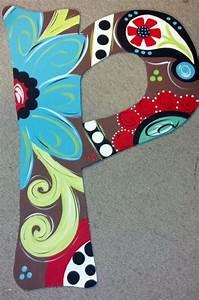 wood letter door hanger with chocolate background love With door letter designs