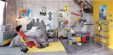 chambre ado garcon deco chambre skateboard raliss com