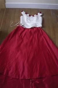robe de mariee longue pas cher avec jupe traine rouge With robe de mariée avec longue traine pas cher