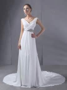 chiffon wedding gown white chiffon wedding dresses wedding dresses