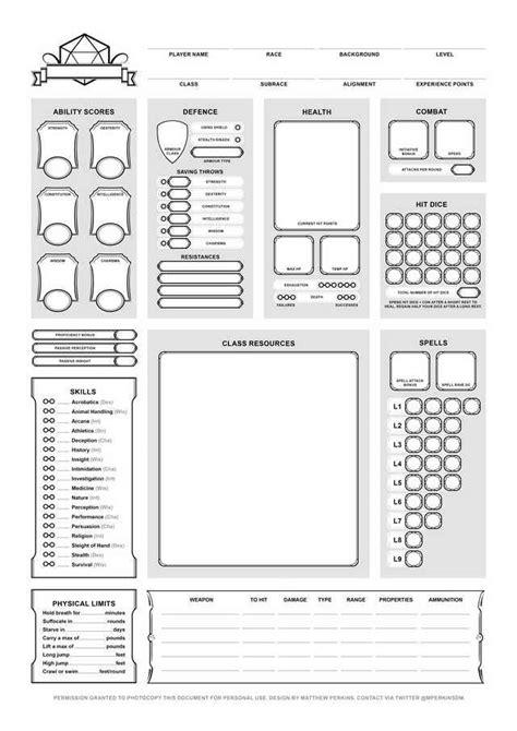 character sheet final   dnd character sheet