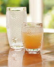 Bee and Honeycomb Glass Tumbler