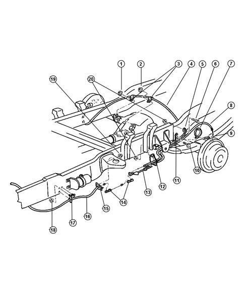dodge ram  brake  diagram sketch coloring page