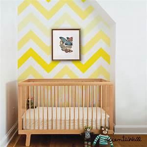 Papier Peint Repositionnable : chevron jaune peel stick tissu papier peint repositionnable ~ Zukunftsfamilie.com Idées de Décoration