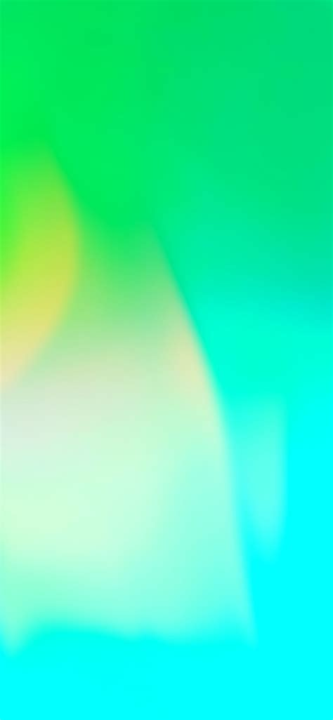 Aqua Blue Wallpaper Iphone 11 by Ios 11 Iphone X Green Aqua Clean Simple Abstract