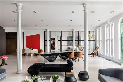 Maximalist New York Lofts That Will Take Your Breath Away by This Tribeca Loft Might Be The Coolest Manhattan Apartment