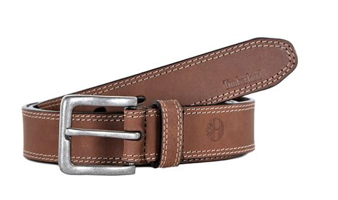 timberland mens casual belt boot cut leather rugged