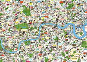 check out this lovely illustrated map of london With katzennetz balkon mit hotels in covent garden area