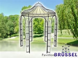pavillon metall rund gartenlaube brussel ausgefallen With katzennetz balkon mit pavillon garden