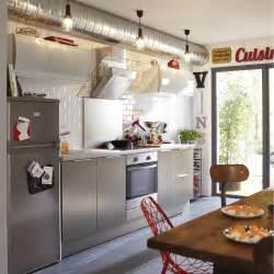 meuble de cuisine d 233 cor aluminium delinia stil leroy merlin