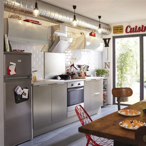 meuble cuisine delinia meuble de cuisine décor aluminium delinia stil leroy merlin