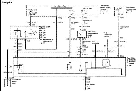 Lincoln Navigator Air Suspension Fuse Box Diagram