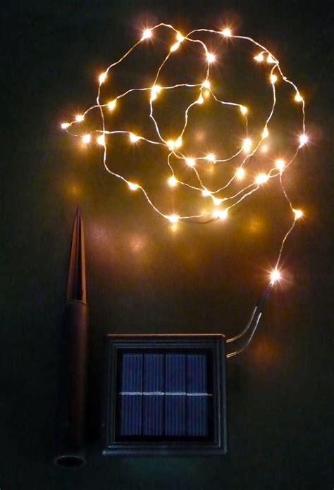 solar copper wire lights