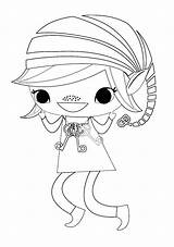 Scout Brownie Elf Coloring Sheet Scouts Daisy Printable Sheets Brownies Colouring Activities Crafts Patches Cookies Quest Doll Law Baking Guides sketch template