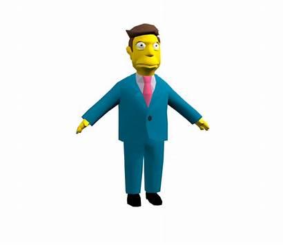 Skinner Principal Seymour Models Pc Simpsons Hit