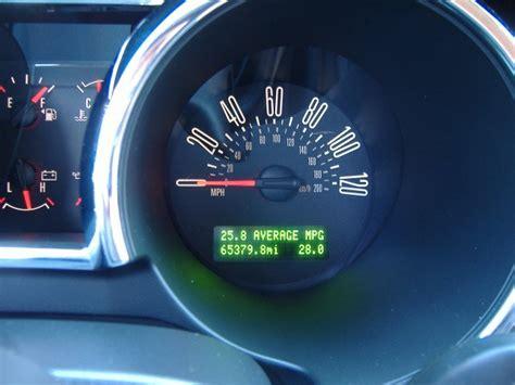 2007 Mustang Auto V6 Gas Mileage