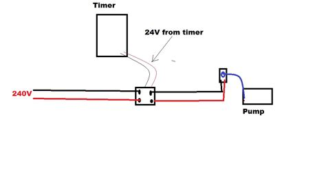 i am installing the start relay orbit to an orbit timer the relay has four wires l1