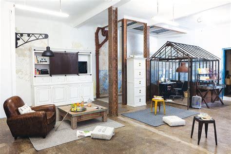 meuble pour separer cuisine salon style industriel ou style factory pour votre maison i