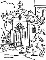 Church Coloring Pages Backyard Christmas Colouring Sheets Tocolor Easter Printable Drawing Getcolorings Books Place sketch template