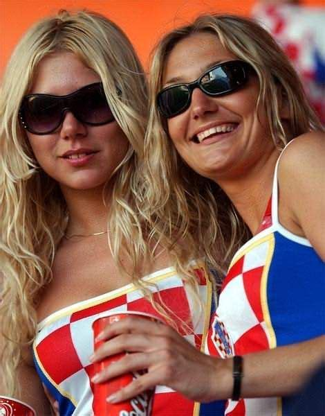 The Best Looking World Cup Fans Ever Croatia Futbol