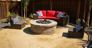Fire, Pit, Landscaping, Ideas, For, Your, Backyard