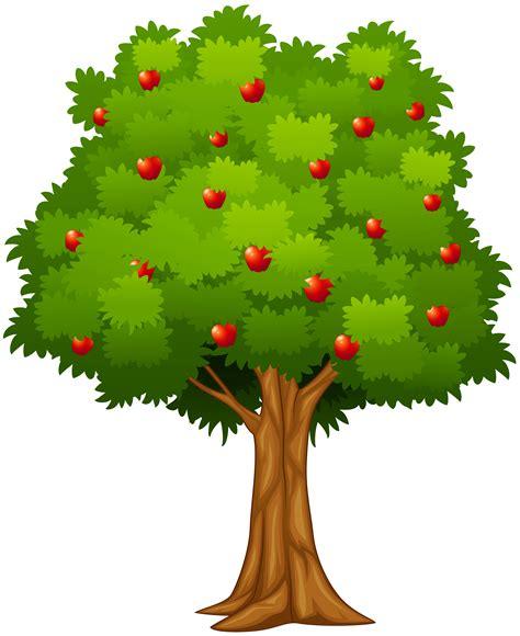 Apple Tree Clipart Apple Tree Clip Black And White Stock Free Techflourish