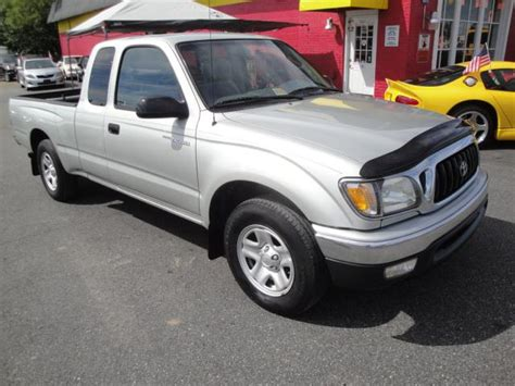 2002 Toyota Tacoma Mpg by 2002 Toyota Tacoma Sr5 X Cab 4cyl 5speed Manual For Sale
