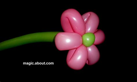 how to make a balloon how to make easy flower balloons