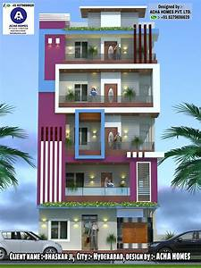 Top, Indian, 3d, Front, Elevation, Modern, Home, Design, 4, Bhk, 2, Bhk, 3, Bhk