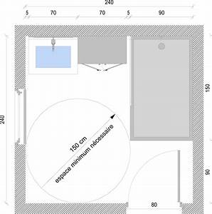 conseils pour meubles pmr personnes a mobilite reduite With norme salle de bain pour handicape
