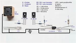 Infrared Proximity Sensor Circuit Diagram
