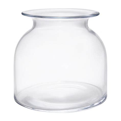 vase en verre kate vase 18cm en verre transparent habitat