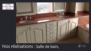 Marbre sur mesure cuisine salle de bain sol a toulouse for Deco cuisine pour salle de bain