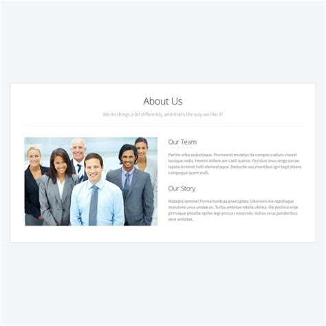 About Us Page Template Content Page Templates Beaver Builder