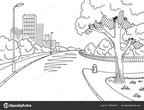 rua estrada grafico preto branco cidade encruzilhada